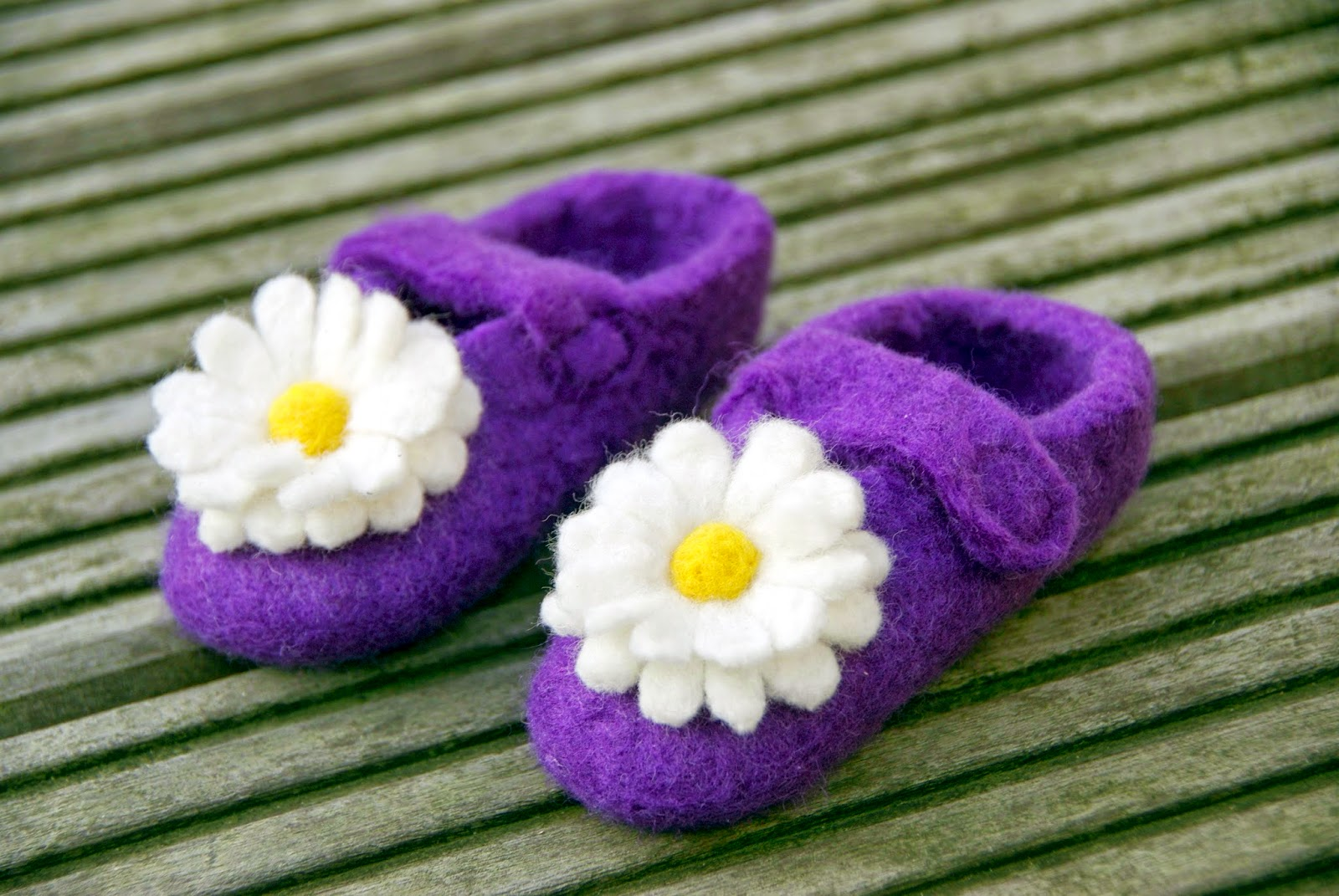 Zelf sloffen vilten – your own pair of felted slippers