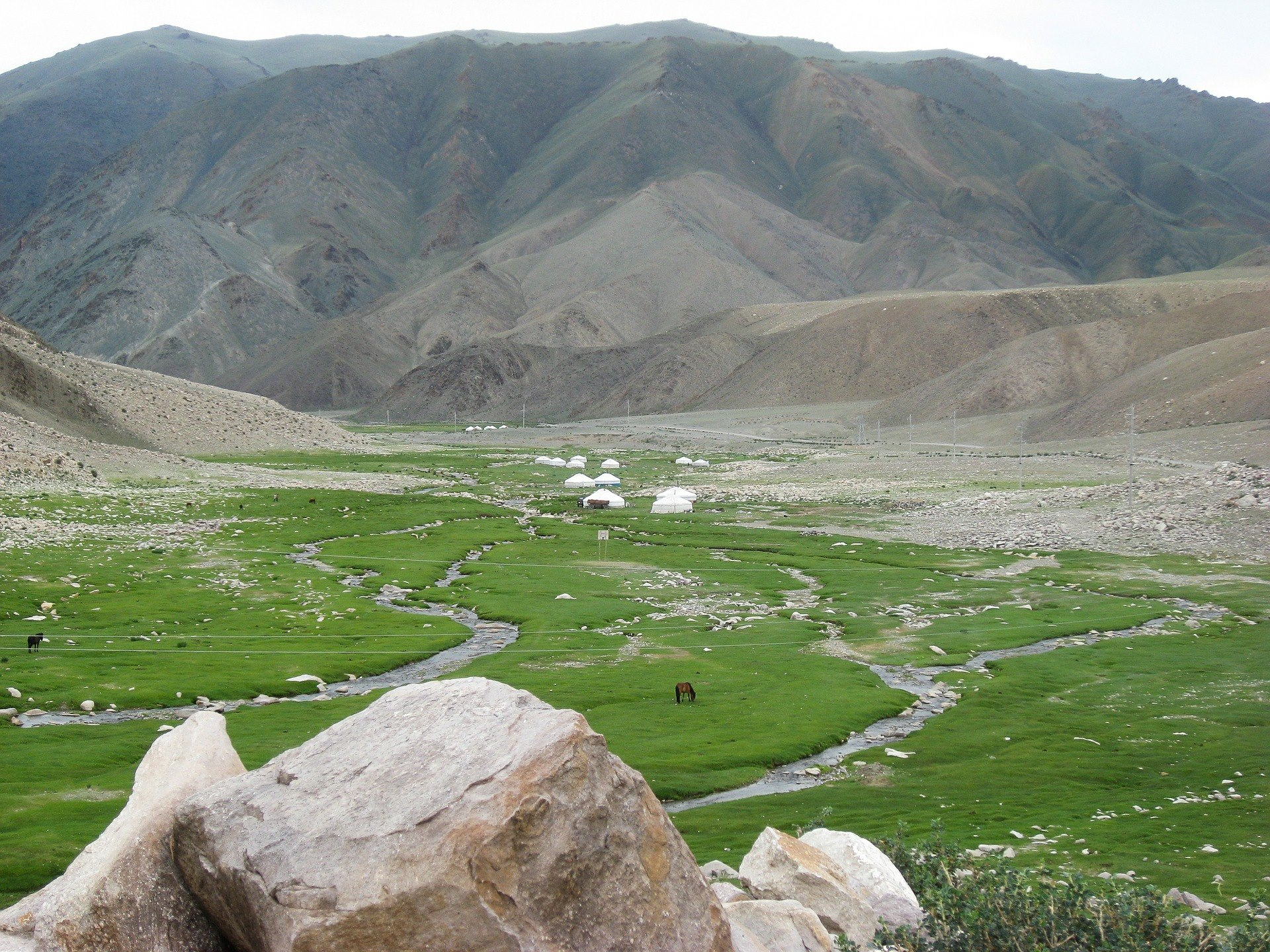 Bijzondere ervaring met vilt in Kirgizië